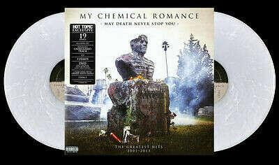 """My Chemical Romance, """"Пусть смерть не остановит тебя 2xLP прозрачный/белый вихрь новый запечатанный   eBay"""