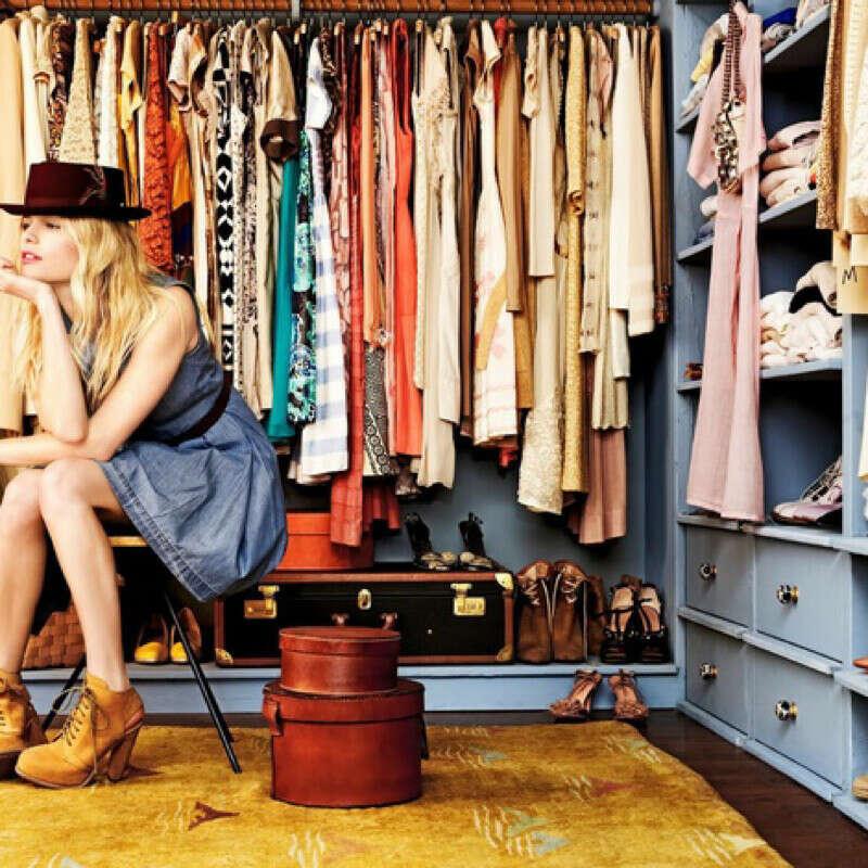 Очень много одежды