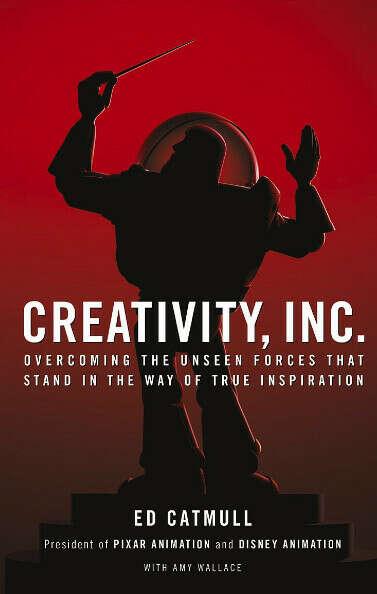 Книга Creativity, Inc. Ed Catmull (можно на расском)