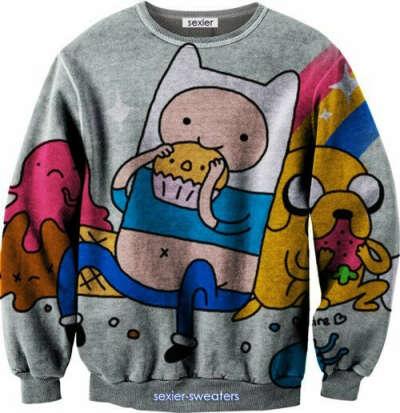 """Свитер """"Adventure Time"""""""