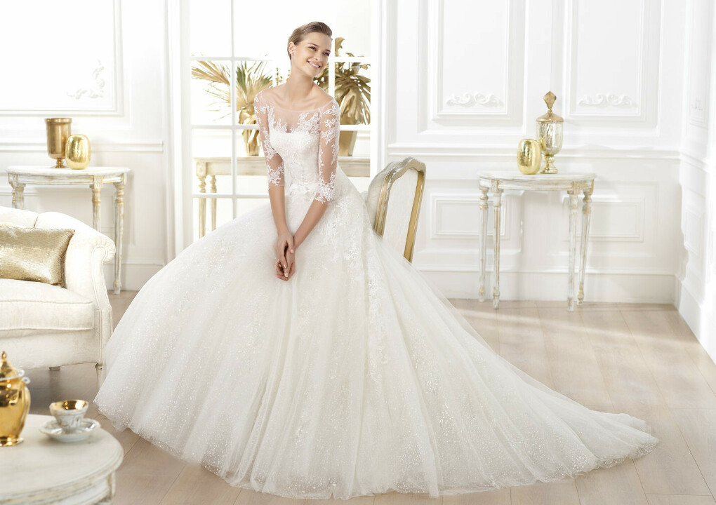 Lavens wedding dress by Pronovias