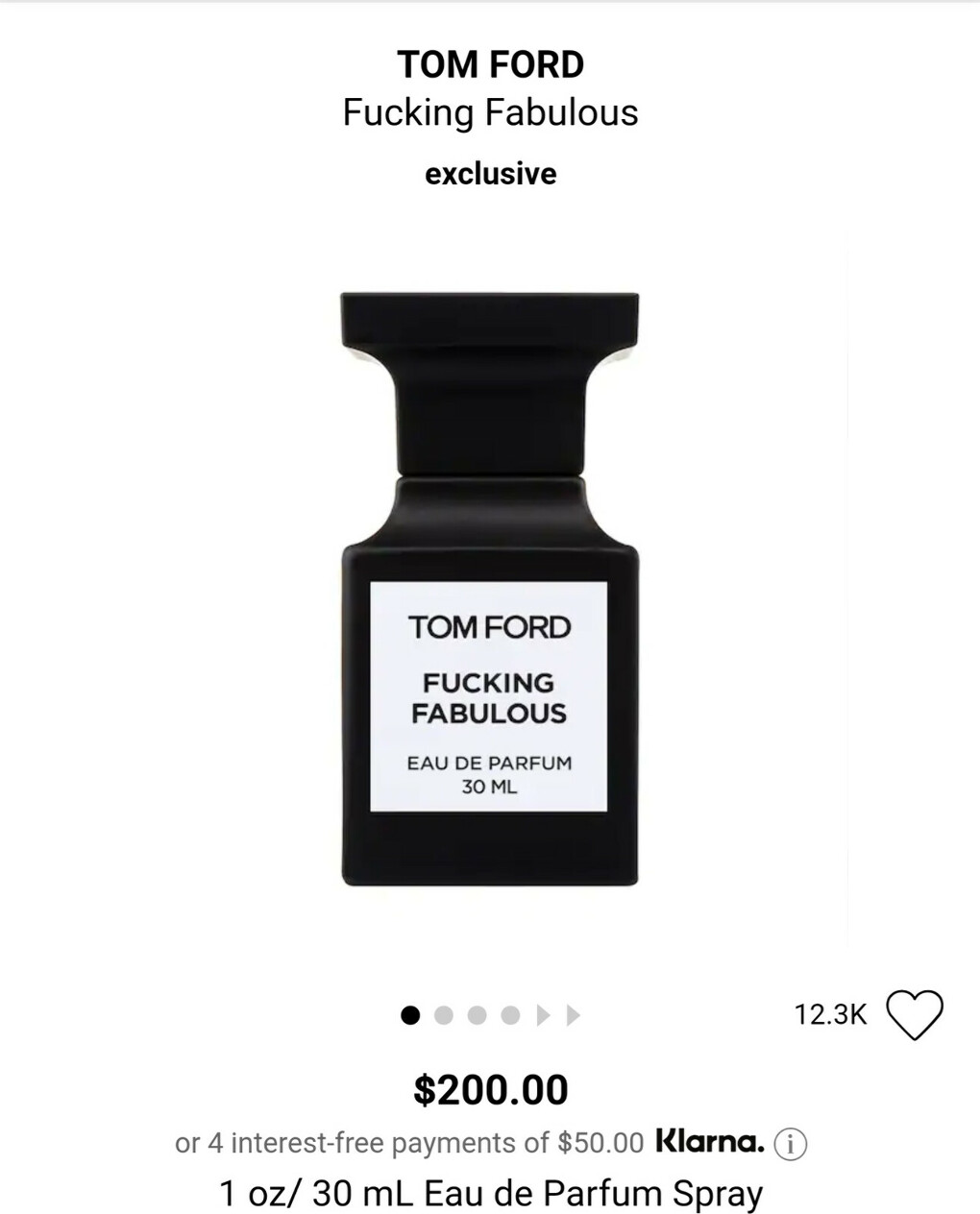 Парфюм Tom Ford Fucking fabulous