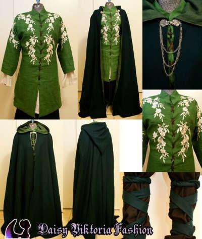 Эльфийская одежда