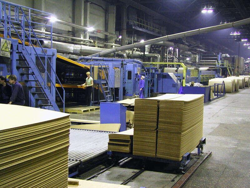 Собств. производство бумаги и картона