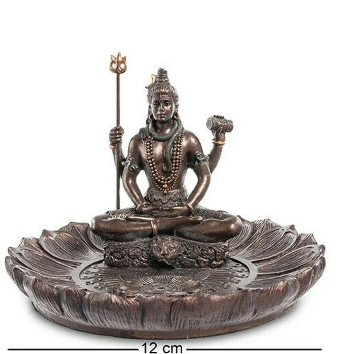 Статуэтка подставка для благовоний Veronese Бог Шива