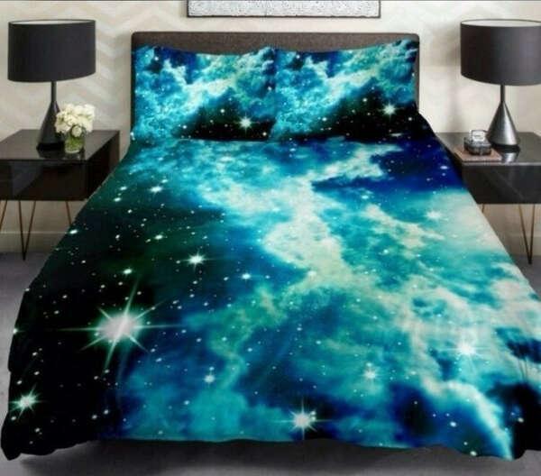 Волшебное постельное белье! С облаками и звездами~