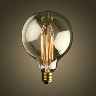 Круглая лампа Эдисона