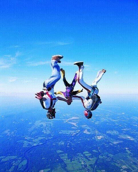 Спрыгнуть с парашютом