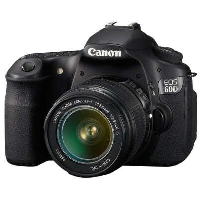 Фотоаппарат зеркальный Canon EOS 60D Kit 18-55 IS Black