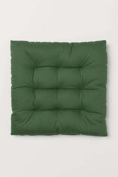 Подушка на стул, хлопок (2 шт)