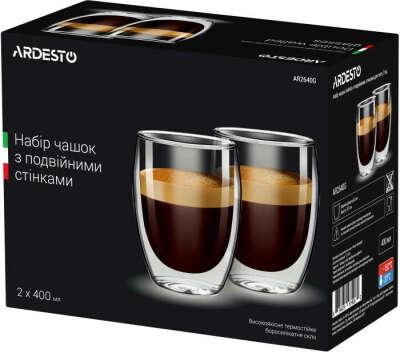 набор чашек с двойным стеклом