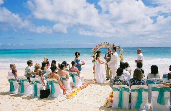 Свадьбу на пляже