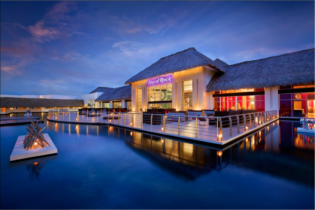 Hard rock hotel casino Пунта Кана Доминиканы
