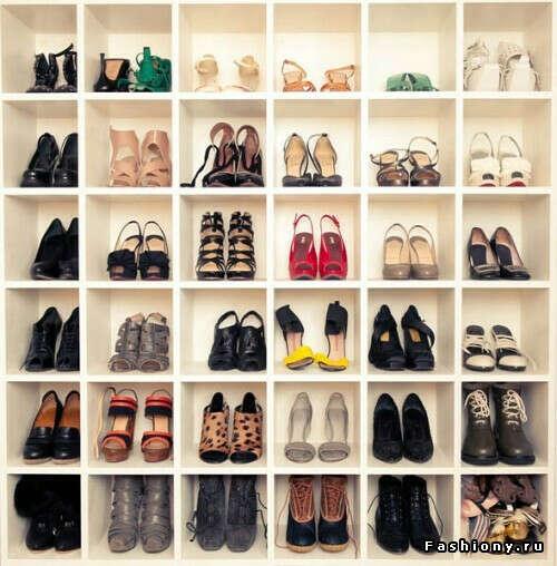 много-много обуви