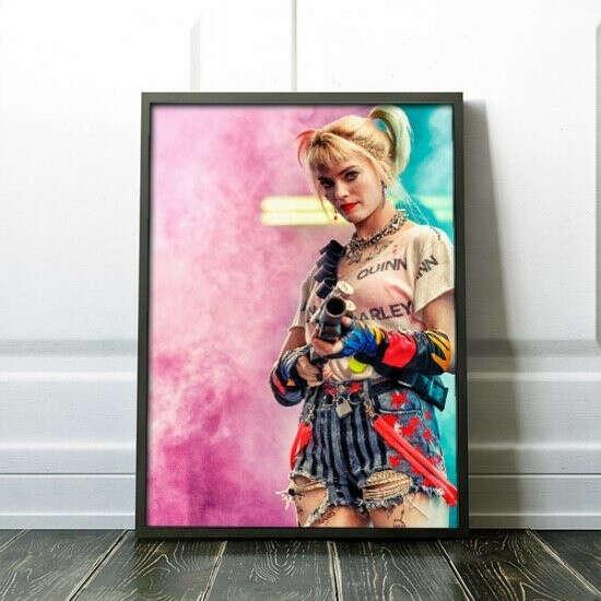 Постер «Хищные птицы: Потрясающая история Харли Квинн» купить в Украине - магазин подарков ДоставкаСчастья