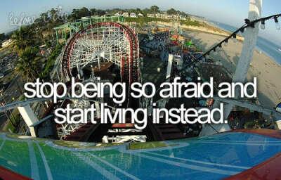 Перестать всего бояться и наконец-то начать жить