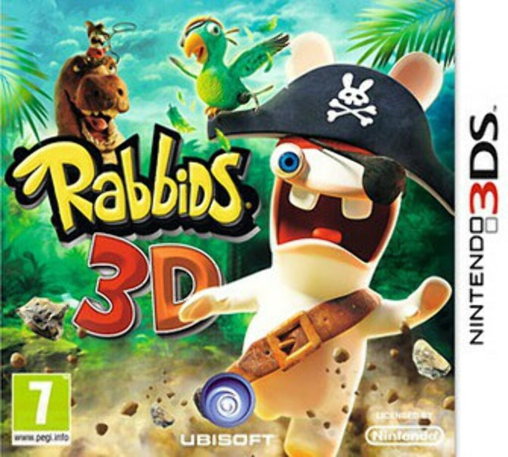 Новый Диск Rabbids Travel in Time (3DS)