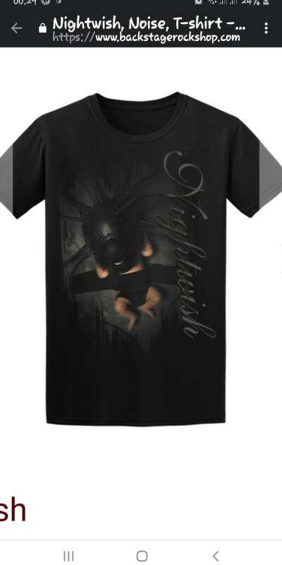 Nightwish новая футболка