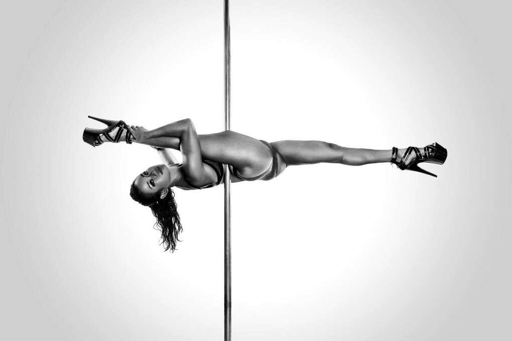 Pole Dance Sexy Kinky Cartoon