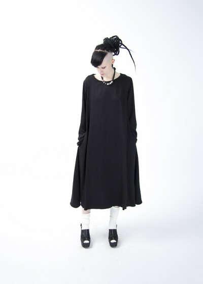 Свободное платье из вискозы
