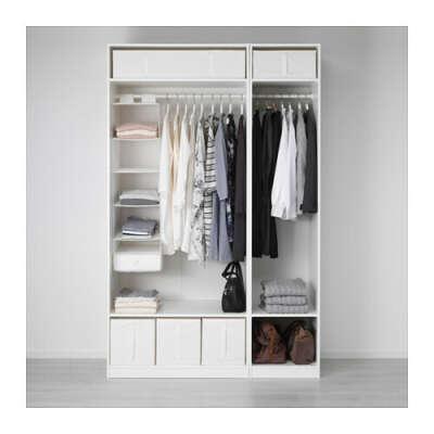 ПАКС Гардероб - плавно закрывающиеся петли, 150x60x236 см  - IKEA