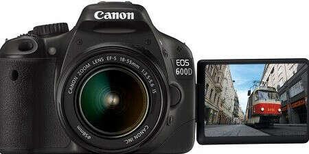 Зеркальный фотоаппарат CANON EOS 600D EF-S kit 18-55IS II – интернет-магазин Эльдорадо