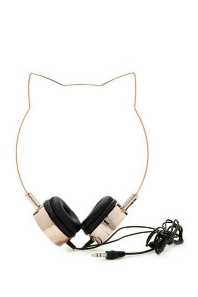 Наушники Kitten ears headphones