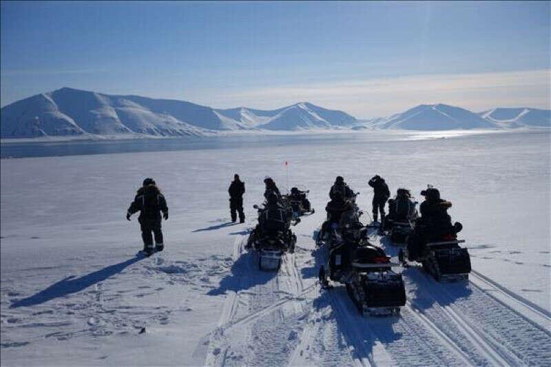 Снегоходный тур