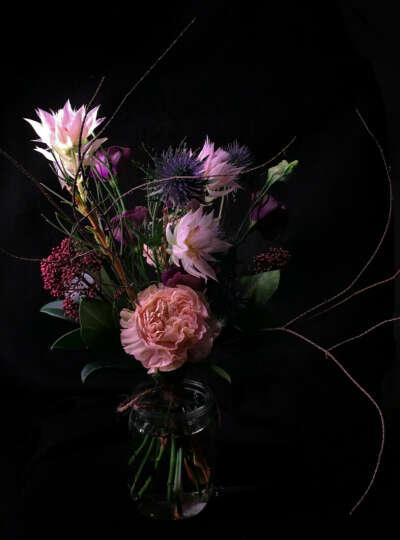 Букет цветов из Мастерской Йонаса