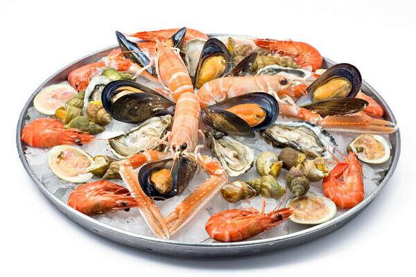 От души поесть морепродуктов