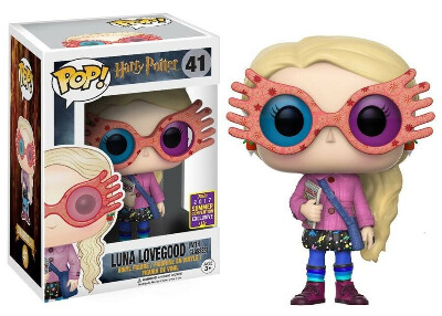Funko Pop! Harry Potter Luna Lovegood with glasses