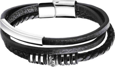 Кожаный браслет Evora 628770-e