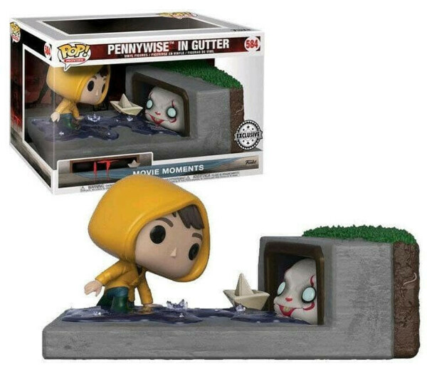Funko POP! Movies IT #584 Movie Moments Pennywise In Gutter