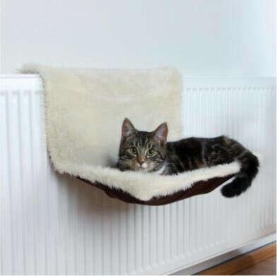 Гамак для котов на радиатор Trixie