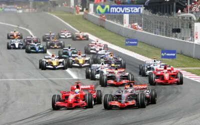 Побывать на Гран При Формулы 1