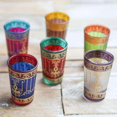 марокканские стаканчики для чая))