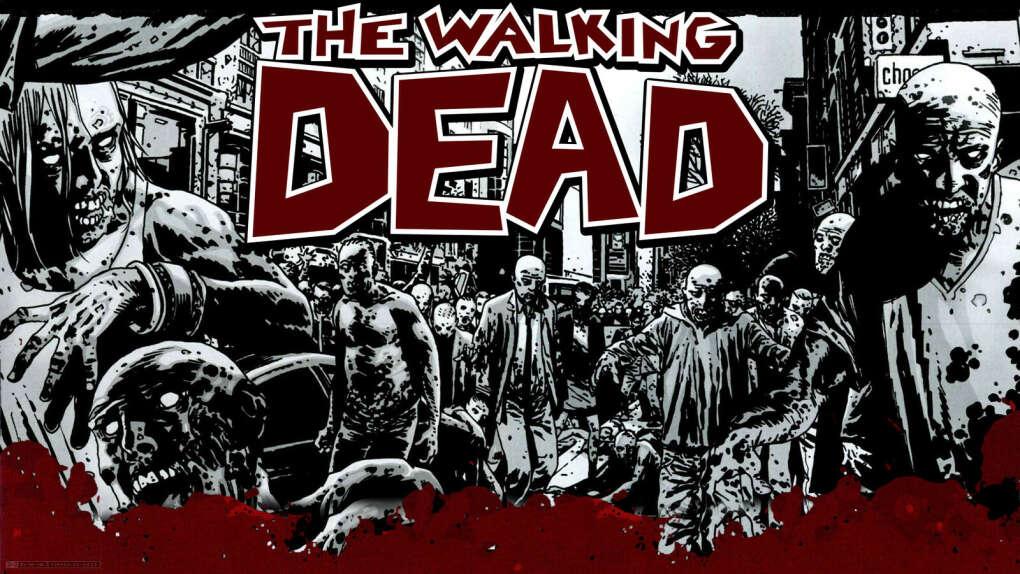 Коллекция комиксов The Walking Dead(в оригинале)