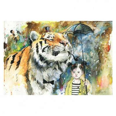 Постер Mr. Tiger А2