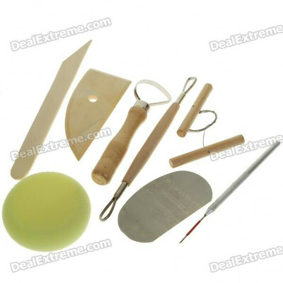 Professional Clay Sculpture Knife Tools Set (Set of 8)