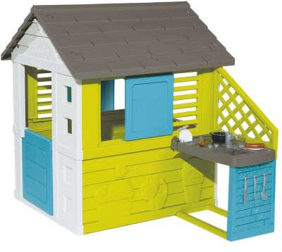 Будиночок Smoby Toys Сонячний з літньою кухнею