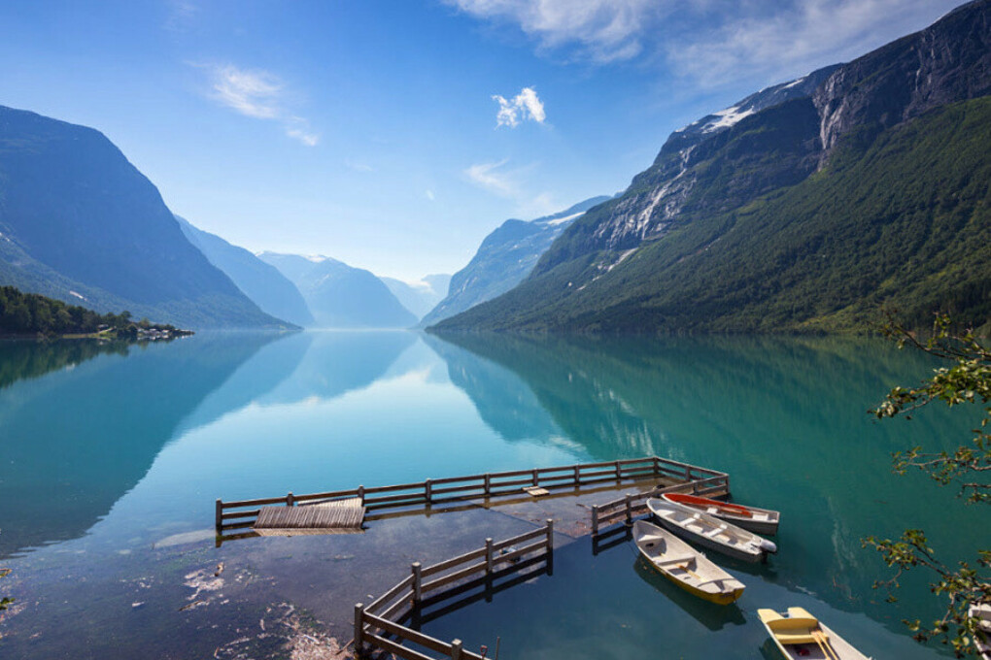 Долина Лоен, Норвегия