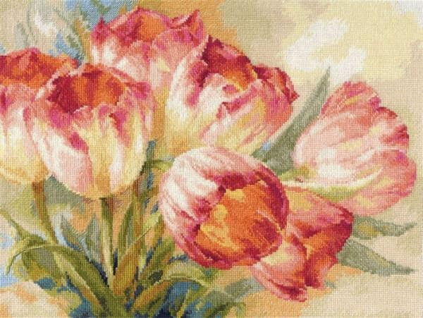 "Набор для вышивания ""Тюльпаны"""