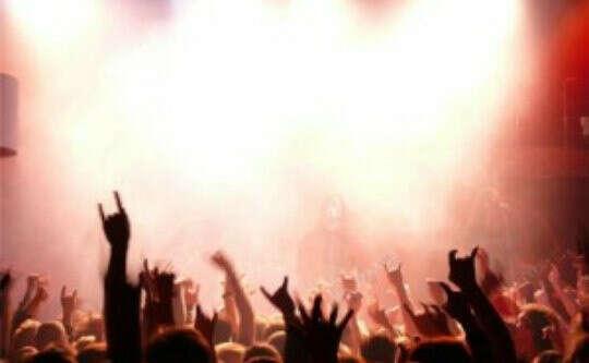 Побывать на концертах любимых музыкальных групп
