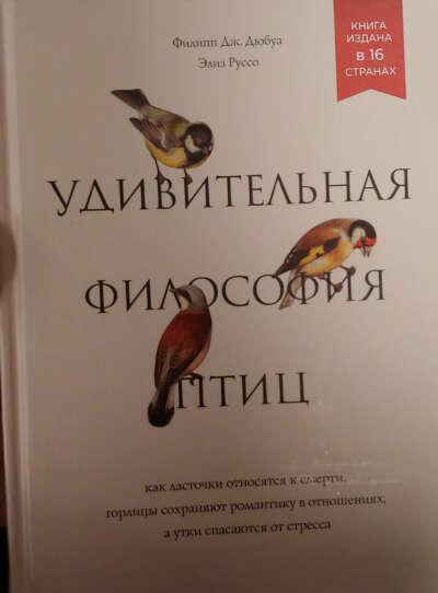 """""""Удивительная философия птиц"""""""