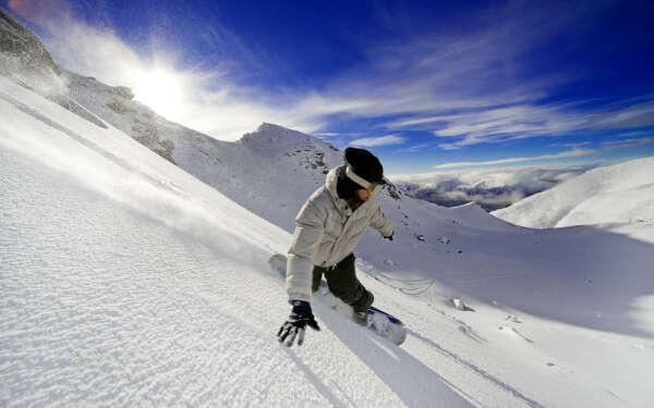 Круто кататься на сноуборде