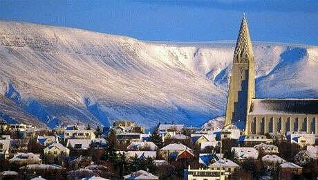 Исландия. Рекьявик