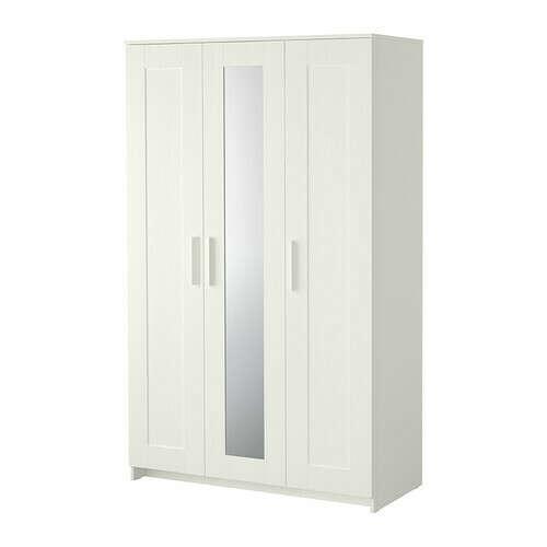 БРИМНЭС Шкаф платяной 3-дверный   - IKEA