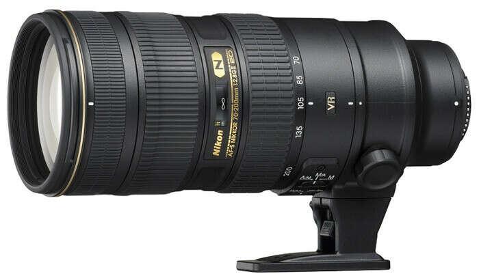 Nikon 70-200mm f/2.8G ED AF-S VR II Zoom-Nikkor-Camerahut.ru