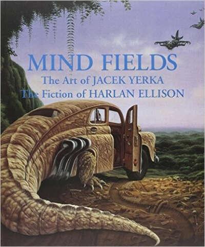 Книга Mind Fields с картинами Яцека Йерки
