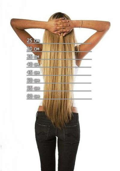 Отрастить волосы до поясницы
